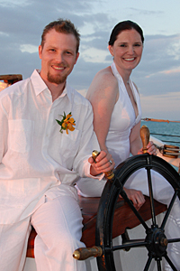 Key West Schooner Wedding