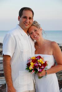 couple on beach key west