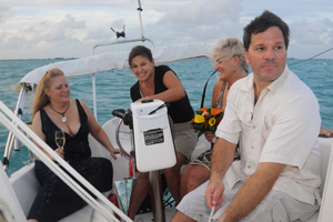 sailing key west wedding