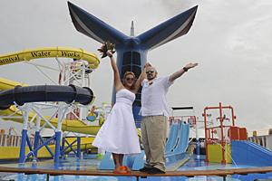 carnival cruise wedding