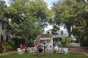 Key West Oldest House And Gardens Wedding